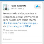 DareSheGoes-KLM Retweet