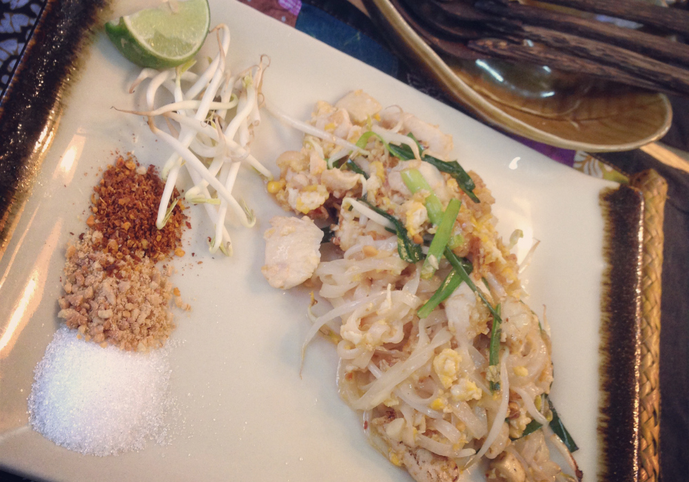 Silom Cooking School Pad Thai