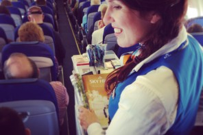 National Geographic Traveler: Interview met een KLM stewardess